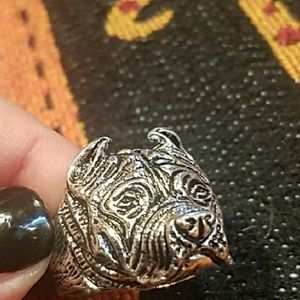 Other - ♥️New men's stainless steel pitbull ring